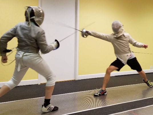 Unlimited Fencing Classes