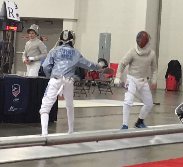 Saber or Epee fencing class