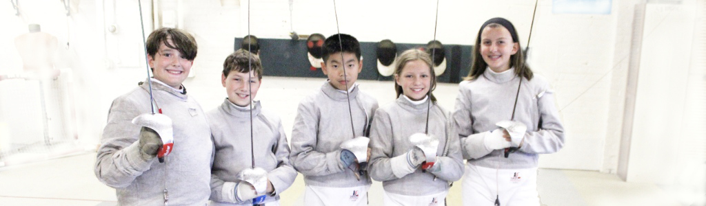 Fencing saber is fore fun for kids than foil